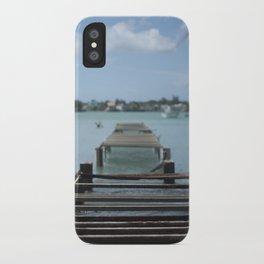 Turquoise Paradise iPhone Case