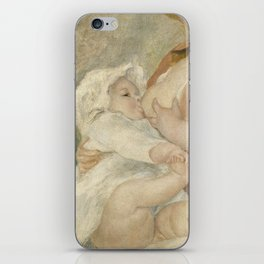 Maternity (Child at the breast) iPhone Skin