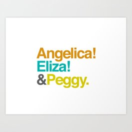 And Peggy Art Print