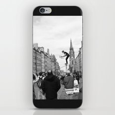 Edinburgh stuntman iPhone & iPod Skin