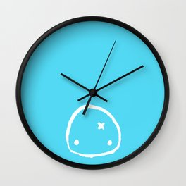 Blue Paboo Wall Clock