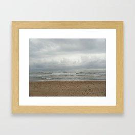 NUDIST TWO Framed Art Print