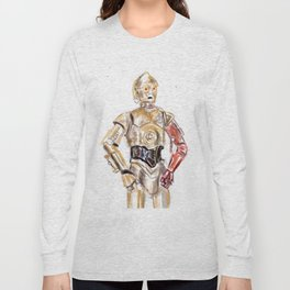 C-3PO Long Sleeve T-shirt