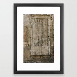 door2 Framed Art Print