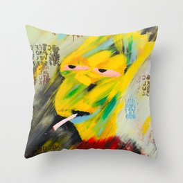 Bart Algorithm Throw Pillow