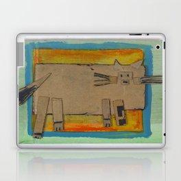 Cardboard cat Laptop & iPad Skin