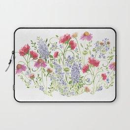 Flowering Meadow - Watercolor Laptop Sleeve