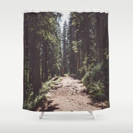 Entering the Wilderness - Landscape and Nature Photography Shower Curtain