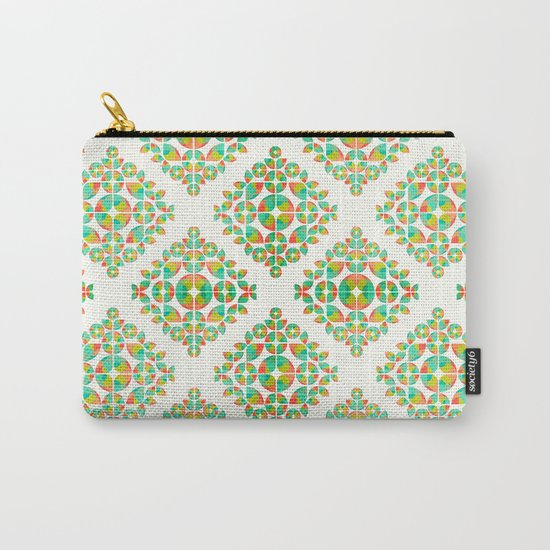 Fantasy Garden Pattern Carry-All Pouch