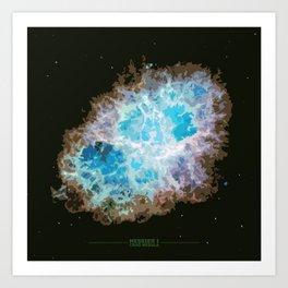 Center Star Art Print