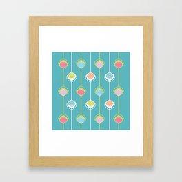 Lampions - Chain Framed Art Print