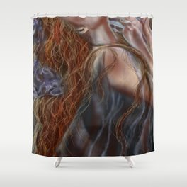 """Dance of Eternity"" Shower Curtain"