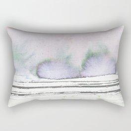 laurel canyon abstract watercolor Rectangular Pillow