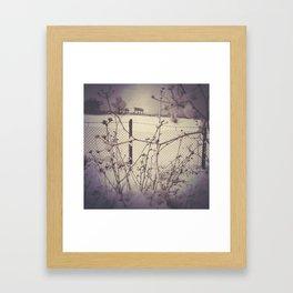 Cold, eh? Framed Art Print