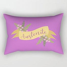 Austenite I Rectangular Pillow