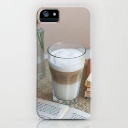Macchiato iPhone Case