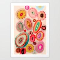 round up Art Print