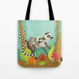 Babies on Backs Tote Bag