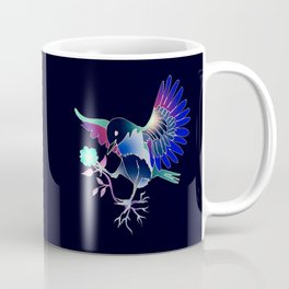 Flying with roses inverse Coffee Mug