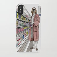lebowski iPhone & iPod Cases featuring Jeffrey Lebowski and Milk. by DJayK