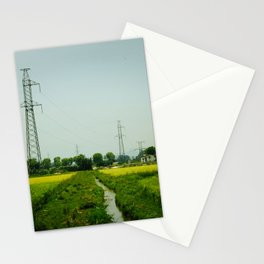 Rice Paddy in Tam Coc Stationery Cards