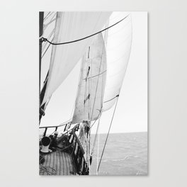 Away We Sail Canvas Print