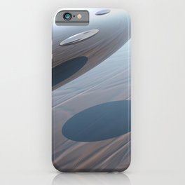 Escaping Area 51 iPhone Case
