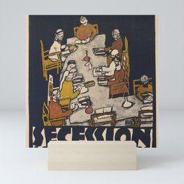 "Egon Schiele ""Secession 49. Exhibition"" Mini Art Print"