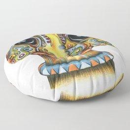 The Forlorn Alien Floor Pillow