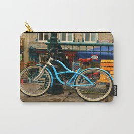 I love my blue bike Carry-All Pouch