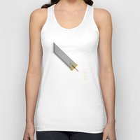 mortal instruments Tank Tops featuring Mortal Sword by kilianyutani