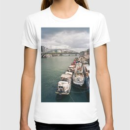 La Seine . Paris T-shirt