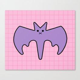 Pastel Bat Canvas Print