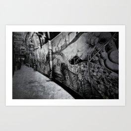 'Mutton Lane' Art Print