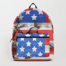 Veterans American Flag Backpack