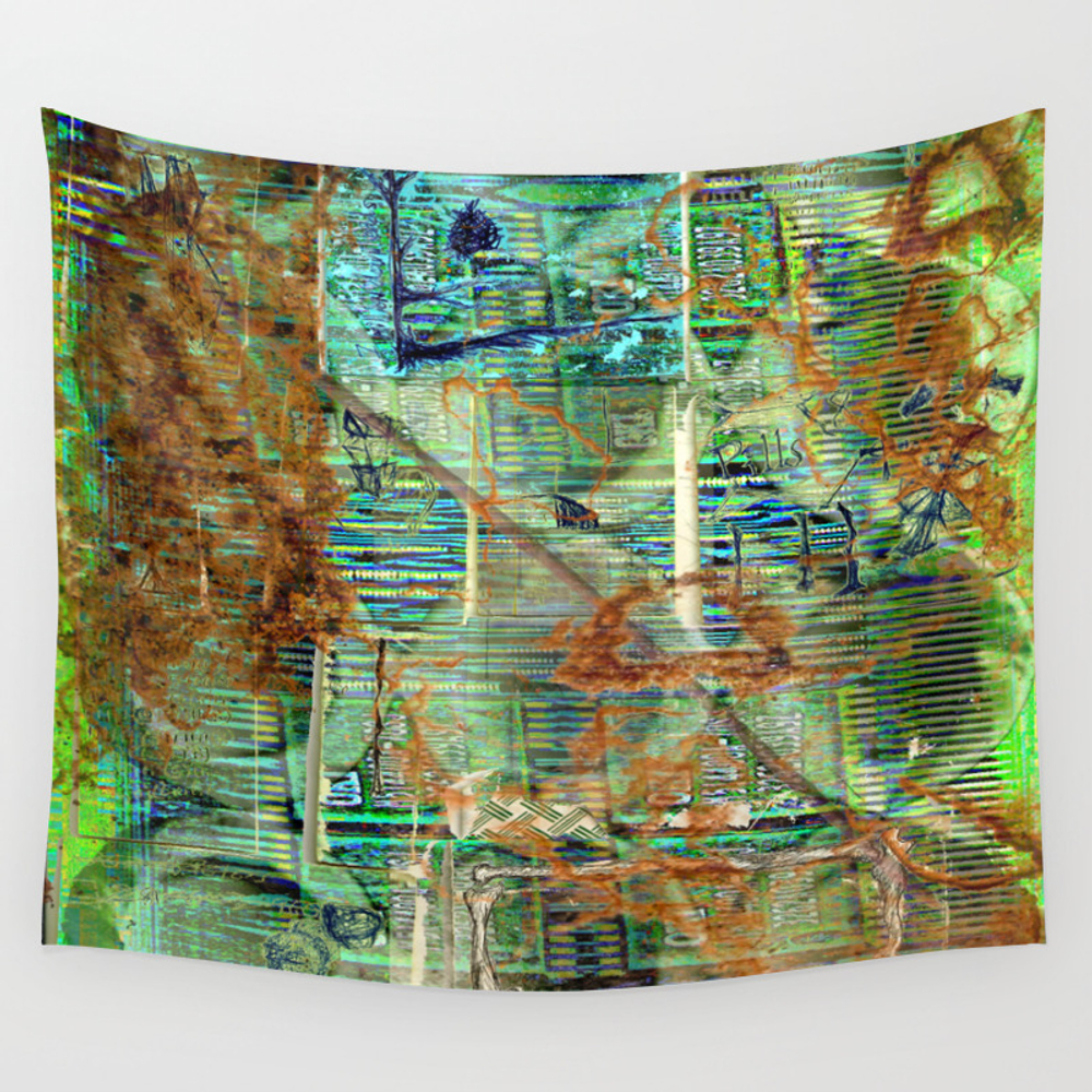Pills (or Slightly Better Living Through Chemistry… Wall Tapestry by Pattonmcginley TPS4734287