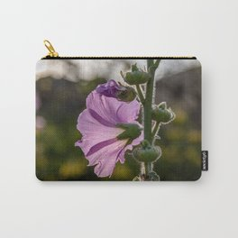 Pirple flower on sunset Carry-All Pouch