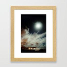 Lectric Moon Framed Art Print