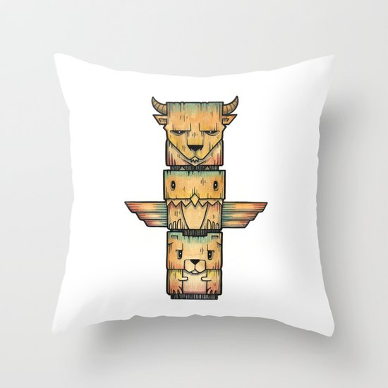 The Legends Throw Pillow