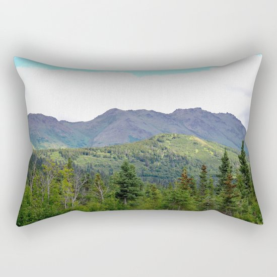 The Mountains Are Calling . . . Rectangular Pillow