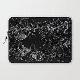 Tree leaves, nature, graphic art Laptop Sleeve