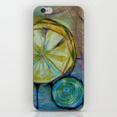 Lemons Juice the Juice of Life iPhone & iPod Skin