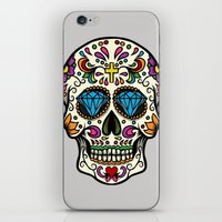 mexican iPhone & iPod Skins featuring Mexican Skull by Pancho the Macho