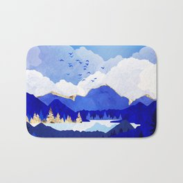 Blue Lake Bath Mat