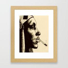 Tricky in Ink Framed Art Print