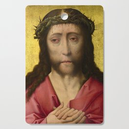 Christ crowned with Thorns, 15th Century Painting Cutting Board