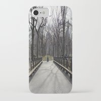 central park iPhone & iPod Cases featuring Central Park by Joanna Dickinson