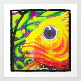 Blotter Fish Art Print