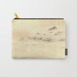 Egrets in Golden Morning Mist Carry-All Pouch