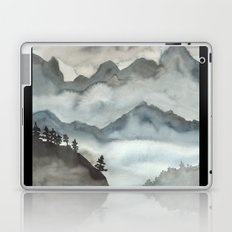 Misty Mountains Laptop & iPad Skin